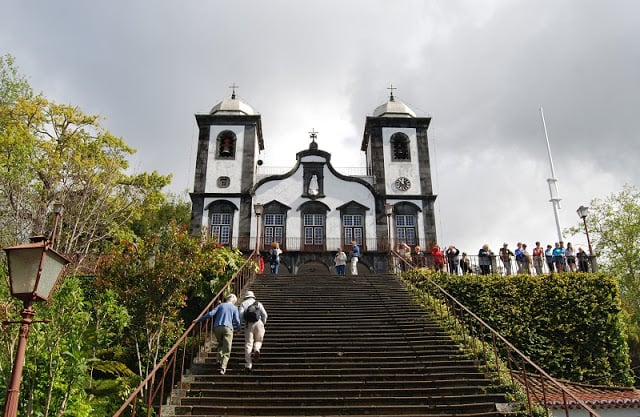 Igreja de Nossa Senhora do Monte na Ilha da Madeira
