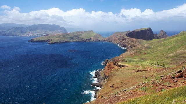 Ponta de São Lourenço na Ilha da Madeira