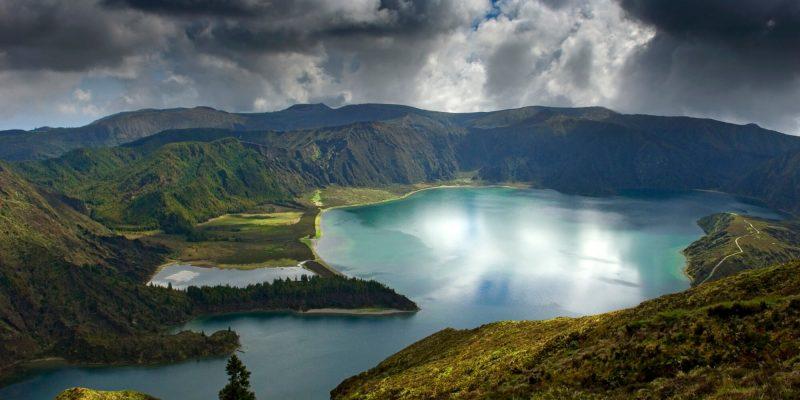Lagoa do Fogo nos Açores