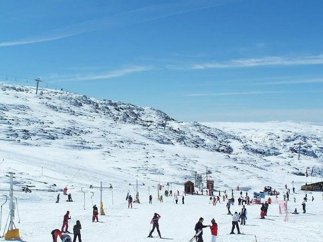 Quando e onde esquiar em Portugal