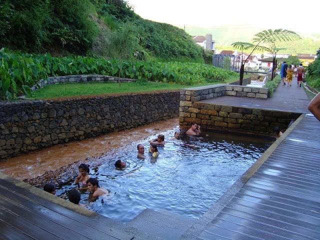 Poça da Dona Beija nos Açores