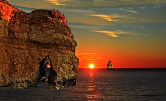 Pôr-do-Sol na Ponta da Piedade