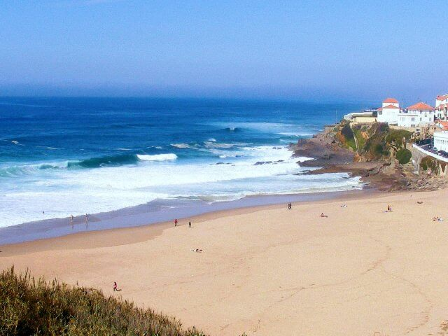 Praia das Maçãs em Portugal