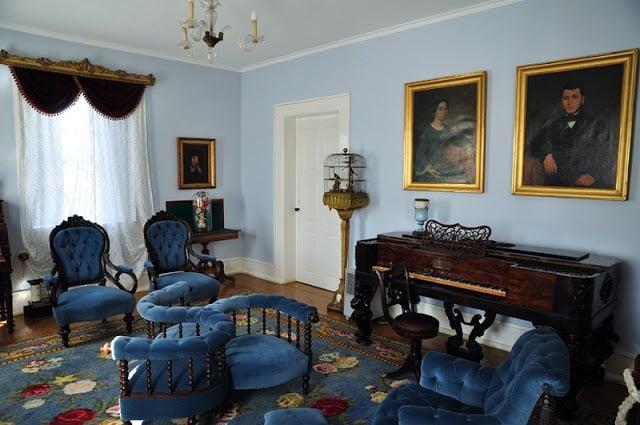 Um dos cômodos do Museu Romântico no Porto