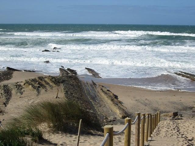 Visual da Praia da Cresmina