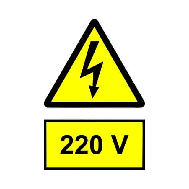 Corrente elétrica de 220 V em Lisboa