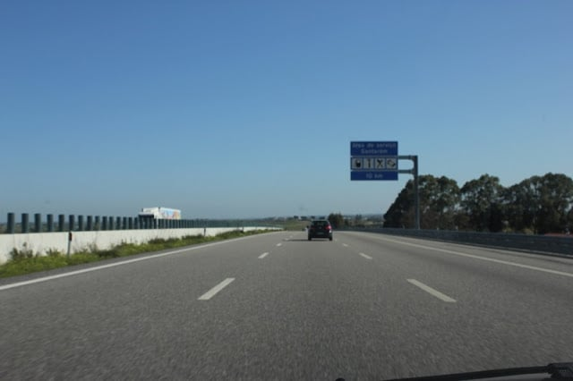Estrada para Fátima - Portugal