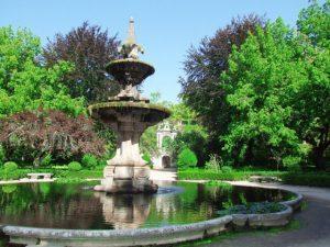 Passeio pelo jardim botânico de Coimbra