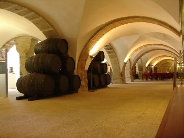 Vinhos engarrafados - Museu do Vinho do Porto