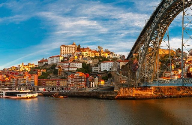 Mapa turístico do Porto