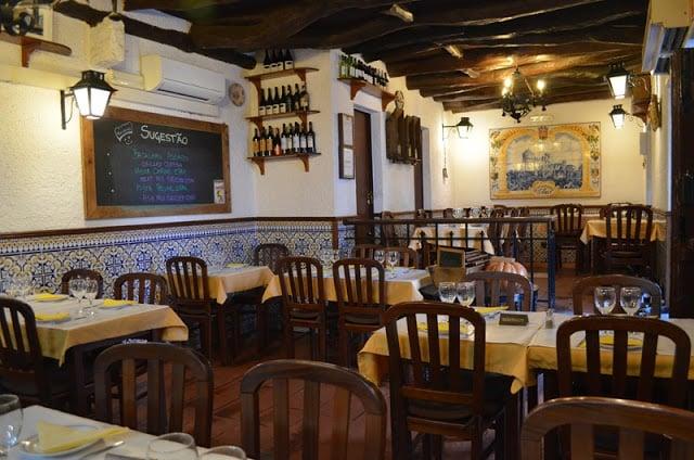 Restaurantes em Sintra