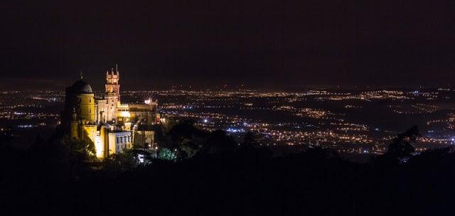 O que fazer à noite em Sintra