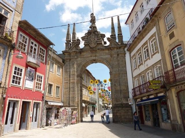 Arco da Porta Nova em Braga