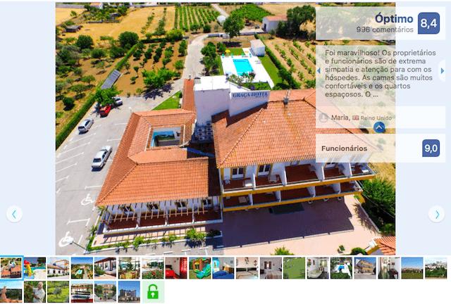 Graça Hotel em Évora
