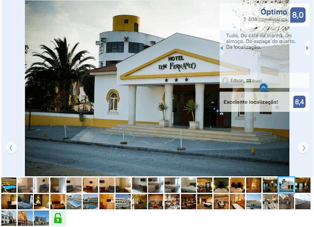 Hotel Dom Fernando em Évora