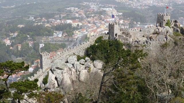 Passeio pelo castelo de Sintra