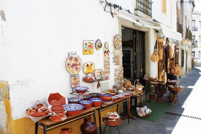 Compras em Évora