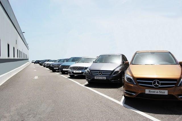Locadoras de carro no aeroporto do Porto