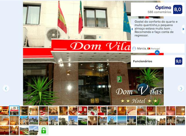 Hotel Dom Vilas em Braga