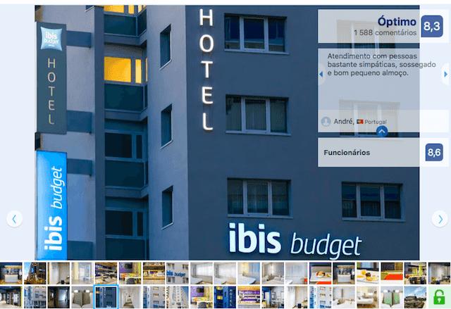 Hotel Ibis Budget em Braga
