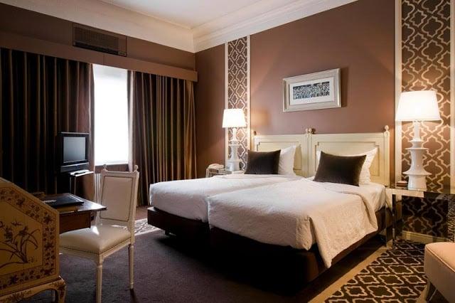 Hotel Infante de Sagres no Porto - quarto