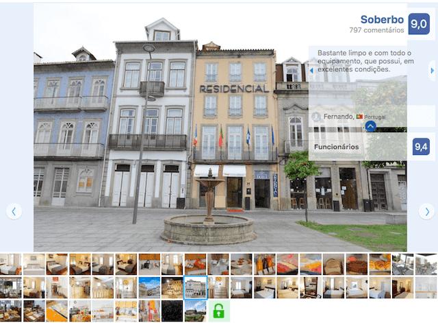 Hotel Residencial Dora em Braga
