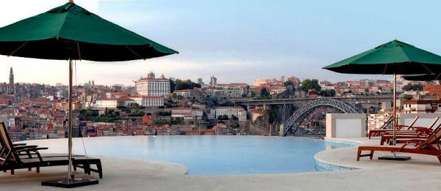 Hotéis de luxo no Porto