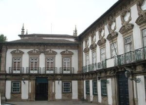 Palácio dos Biscainhos - fachada