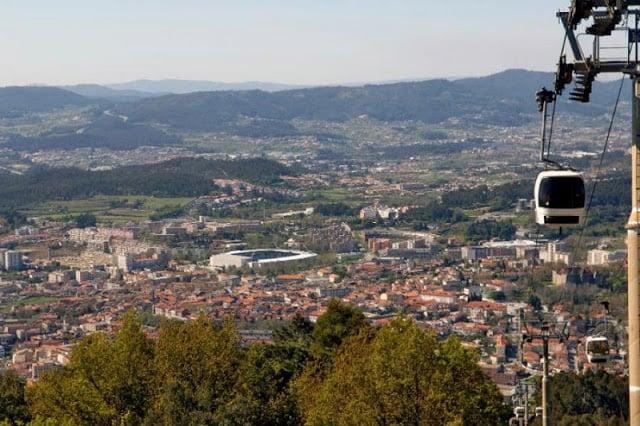 Monte da Penha em Guimarães
