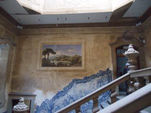 Azulejo no Palácio do Raio em Braga