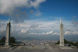 Vista do Santuário do Sameiro em Braga