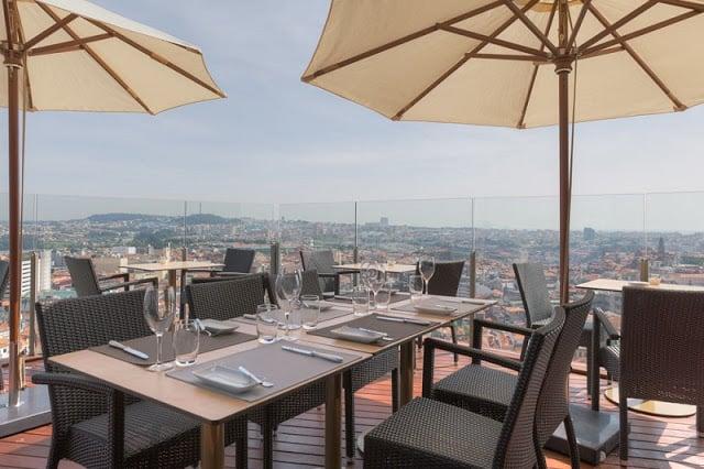 Hotel Dom Henrique no Porto - Bar Panorâmico