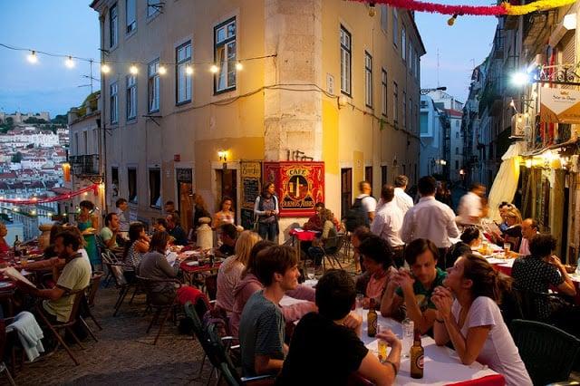 Alta temporada em Lisboa