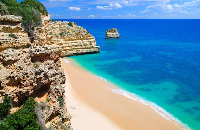 Pontos turísticos do Algarve
