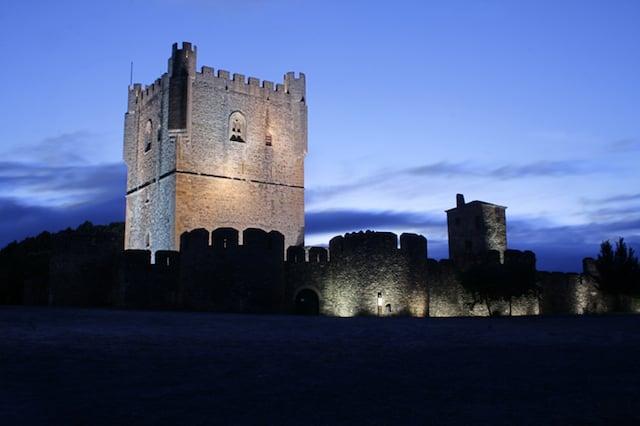 Castelo de Bragança em Portugal