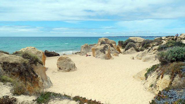 Praia da Galé em Albufeira