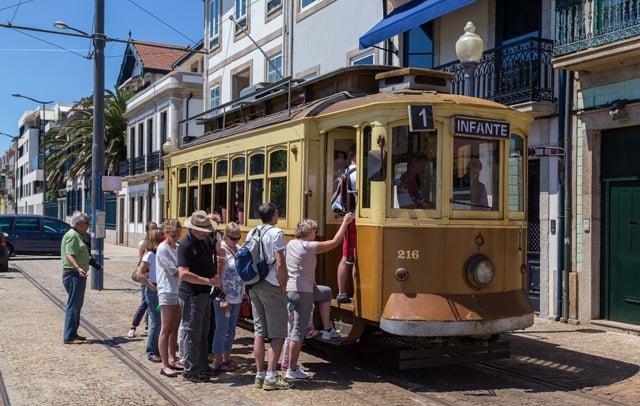 Linha 1 do Elétrico no Porto