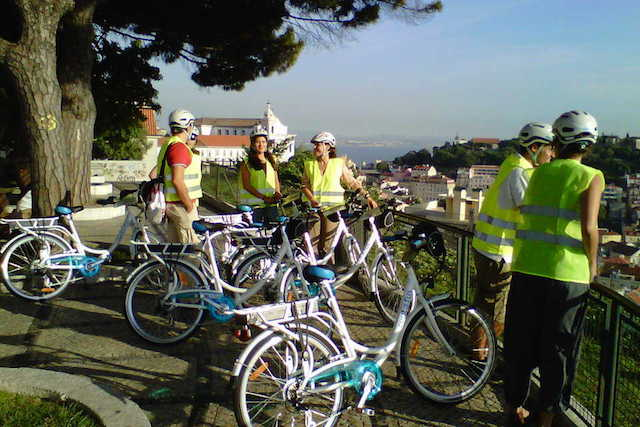 Passeio de bicicleta por Lisboa