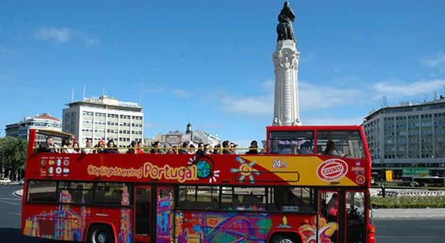 Passeio ônibus turístico por Lisboa