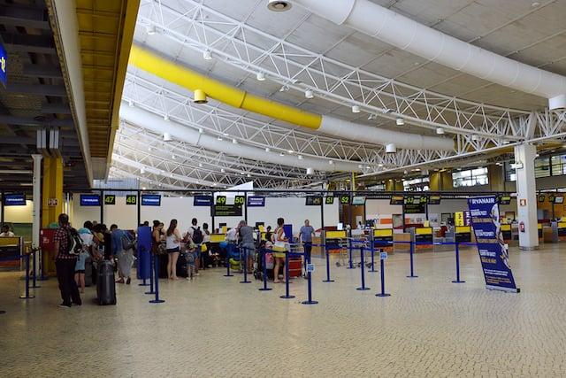 Aeroporto próximo de Faro