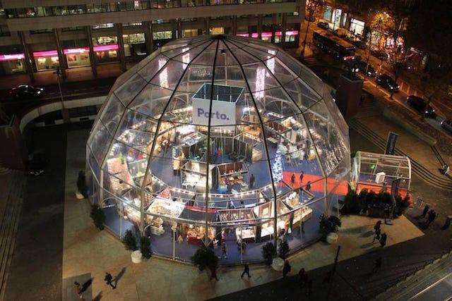Mercados de Natal no Porto (2018)