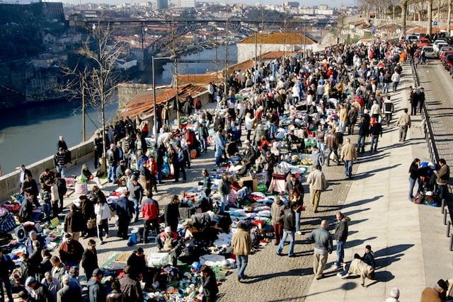 Uma das edições do Flea Market no Porto