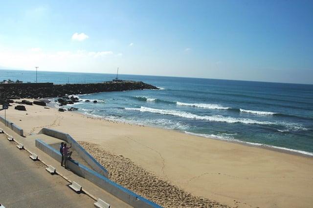 Praia no Norte ou do Algodio em Ericeira