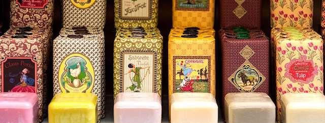Sabonetes da loja Vida Portuguesa
