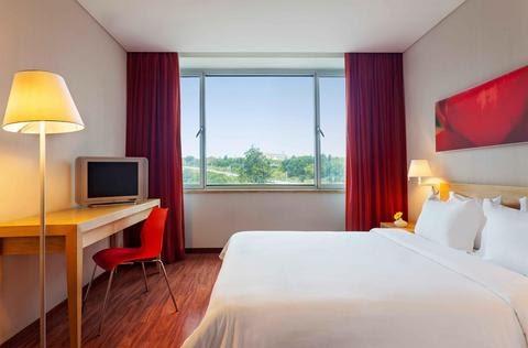HF Fenix Garden Hotel em Lisboa - quarto