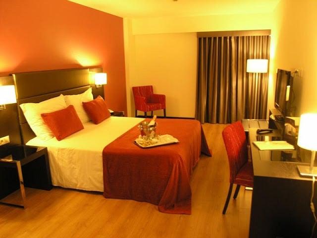Hotel Dona Inês em Coimbra - quarto