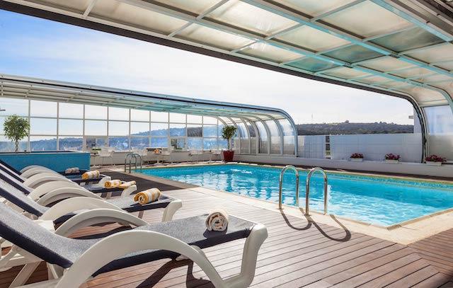 Hotel Mercure Lisboa - piscina