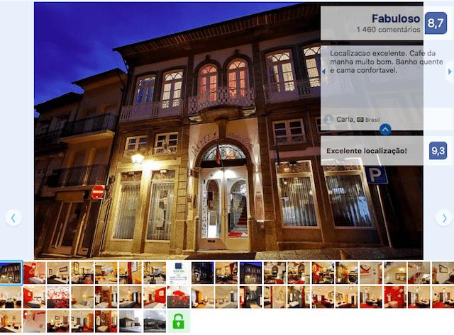 Hotel Mestre de Avis em Guimarães