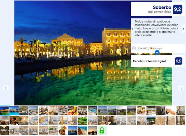 Hotel The Lake Resort em Vilamoura - Algarve