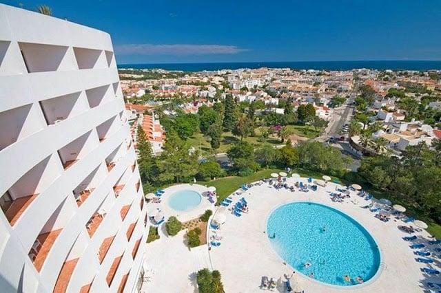 Dicas de hotéis em Albufeira - vista para o mar